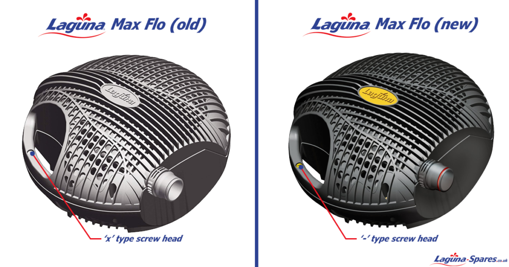 Laguna Max Flo Comparison